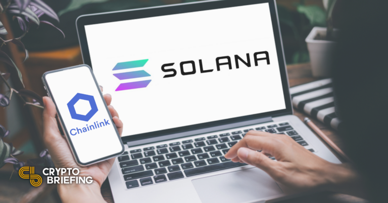 Solana Integrates Chainlink to Offer Crypto Price Feeds